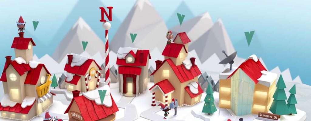 Il Percorso Di Babbo Natale.Bimbi Volete Seguire Il Viaggio Di Babbo Natale Con Le Sue